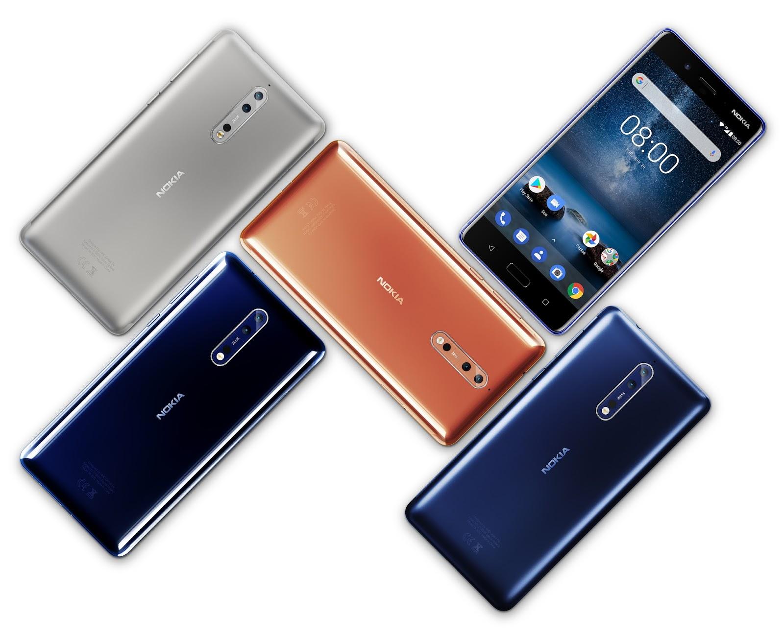 nokia 6 android p update