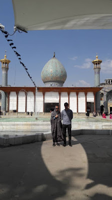The grave of holy Shah-e-Cheragh shrine, the son of the 7th Shiite Imam, make Shiraz a pilgrimage site for Iranians. The monument has been discovered in 11th century and a shrine was built over it afterwards.