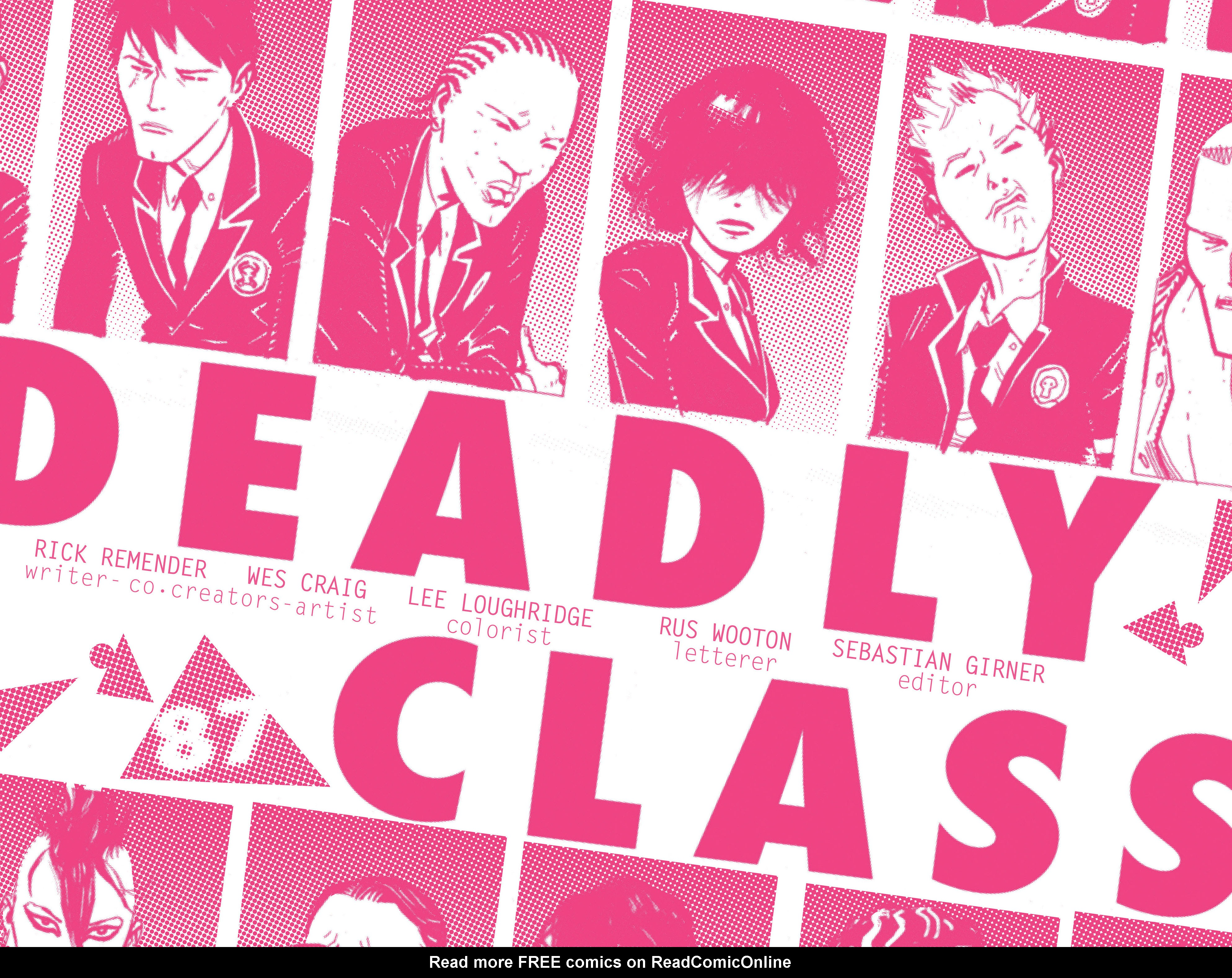 Read online Deadly Class comic -  Issue #6 - 4