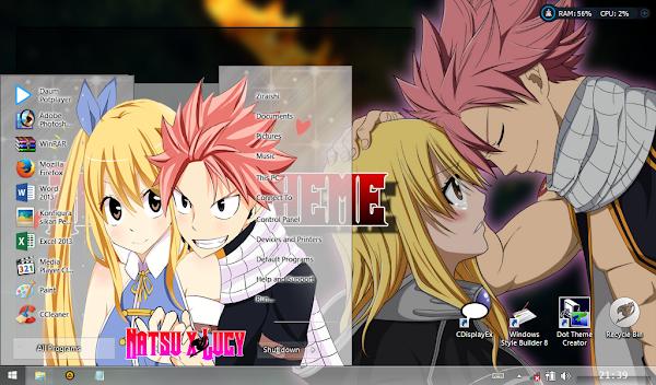 Natsu x Lucy (Theme Windows 8 ) 1