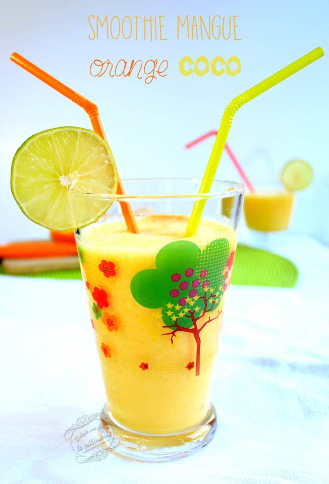 smoothie mangue orange coco