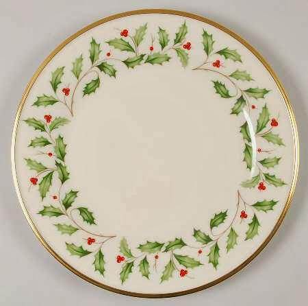 Tiffany Garland Christmas China