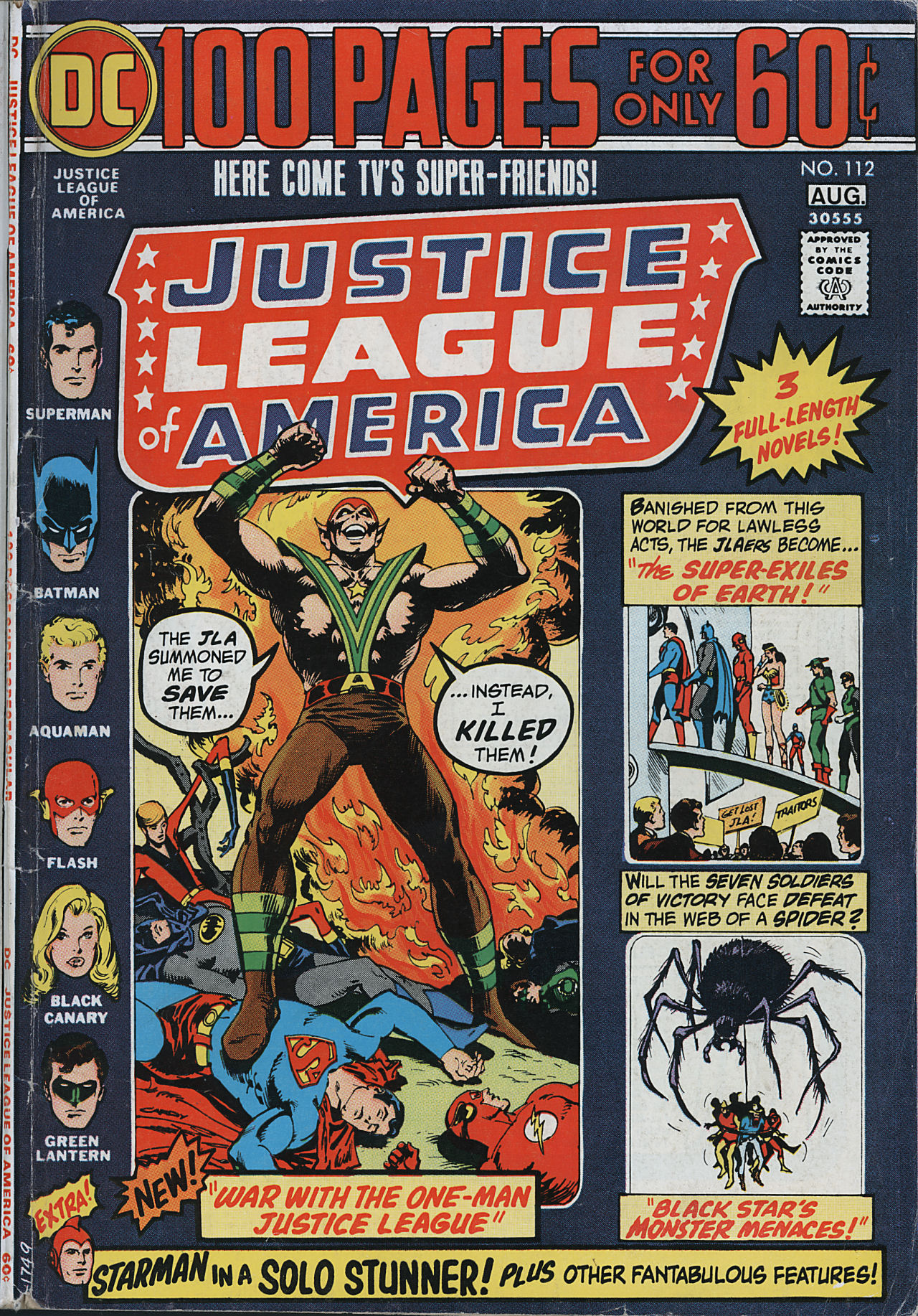 Justice League of America (1960) 112 Page 1