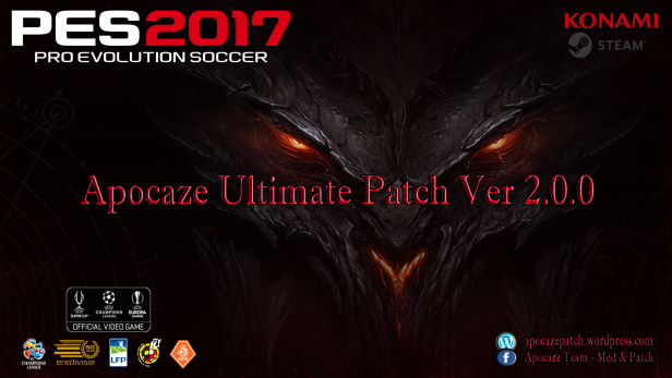 PES 2017 Apocaze Ultimate Patch Ver.2.0.0 AIO - Released #29/11/2016