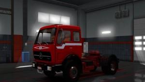 Mercedes 1632 Ekualizer Red Beast Skin