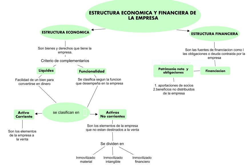 El Mundo De La Contaduria Estructura Económica Y Financiera