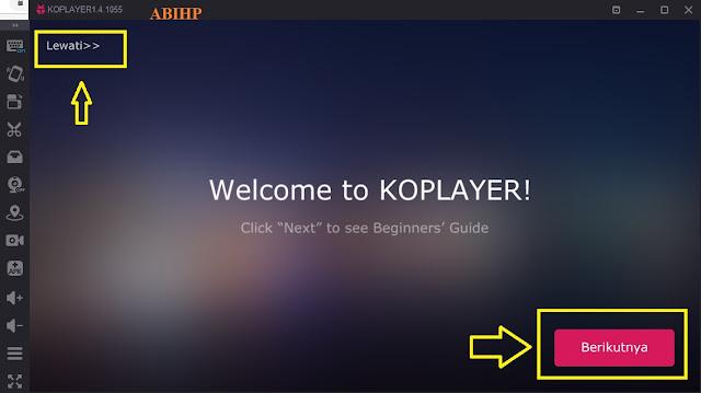 Silahkan pilih berikutnya atau lewati pada Koplayer.