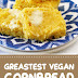 Greatest Vegan Cornbread #vegan #cornbread
