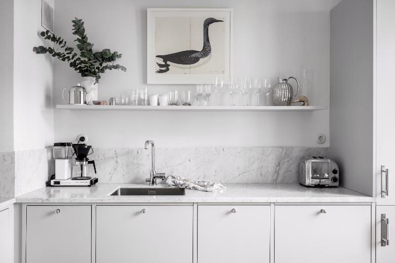Toque dorado en decoración nórdica by Habitan2|Decoración handmade para hogar y eventos