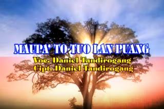 Lirik Lagu Toraja Maupa' To Tuo Lan Puang (Daniel Tandirogang)