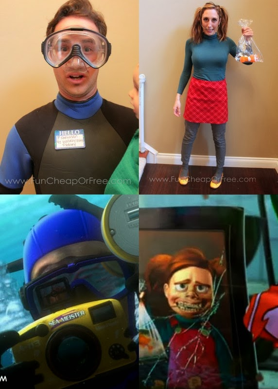 And of course Ollie as Bruce  sc 1 st  Fun Cheap or Free & DIY Finding Nemo Costumes! Plus the 6 tricks to getting Halloween ...