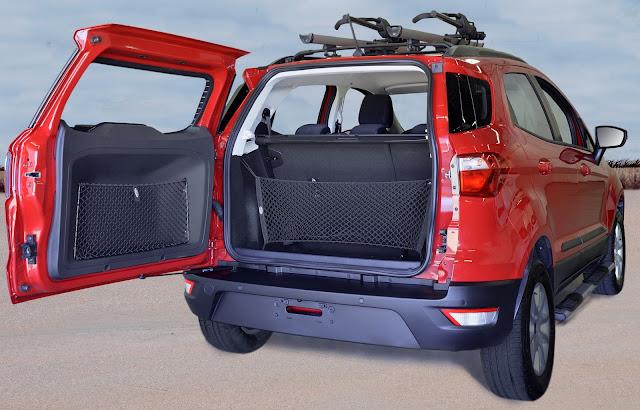Ford EcoSport - porta-malas