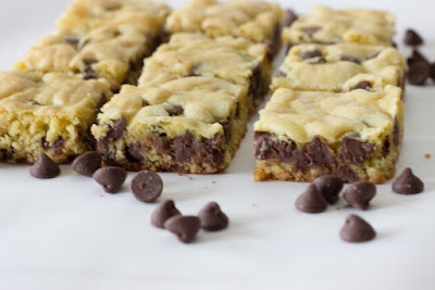 Make Chocolate Chip Cookie Bars With Cake Mix