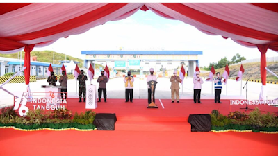 Presiden Jokowi Resmikan Jalan Tol Balikpapan-Samarinda, Siap Beroperasi Penuh