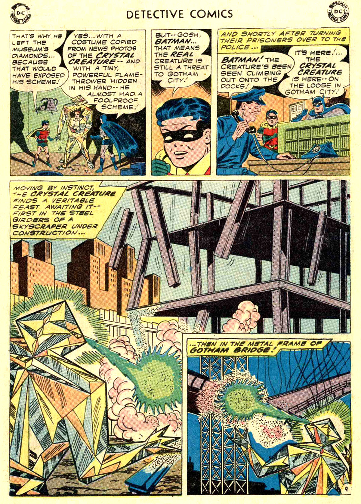 Read online Detective Comics (1937) comic -  Issue #272 - 11