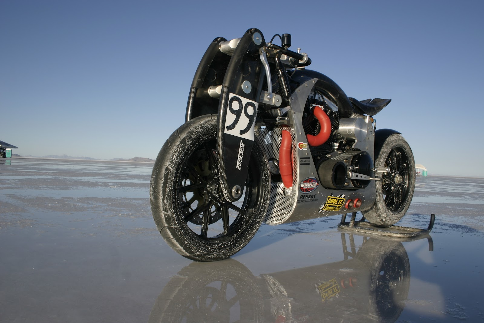 Confederate Wraith XP-1 at Bonneville