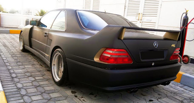 mercedes cl 140 koenig specials widebody