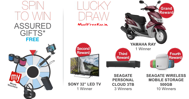 Contest !! Spin to Win Assured Gift from Seagate and Be Lucky to Win