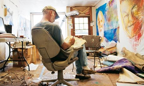 Jon Sarkin – The Compulsive Painter
