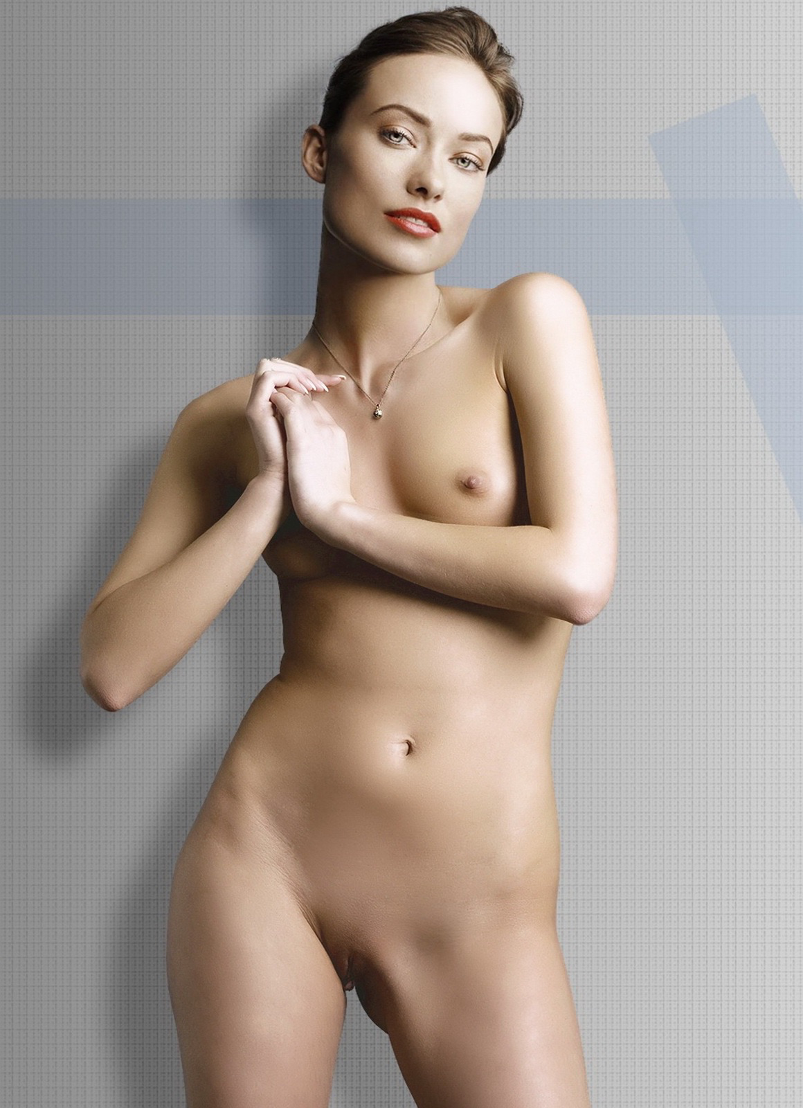 Famous actress shaved nude