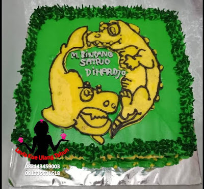 Kue Tart Bonex Mania Penggemar Persebaya