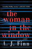 The Woman in the Window by A. J. Finn book cover and review