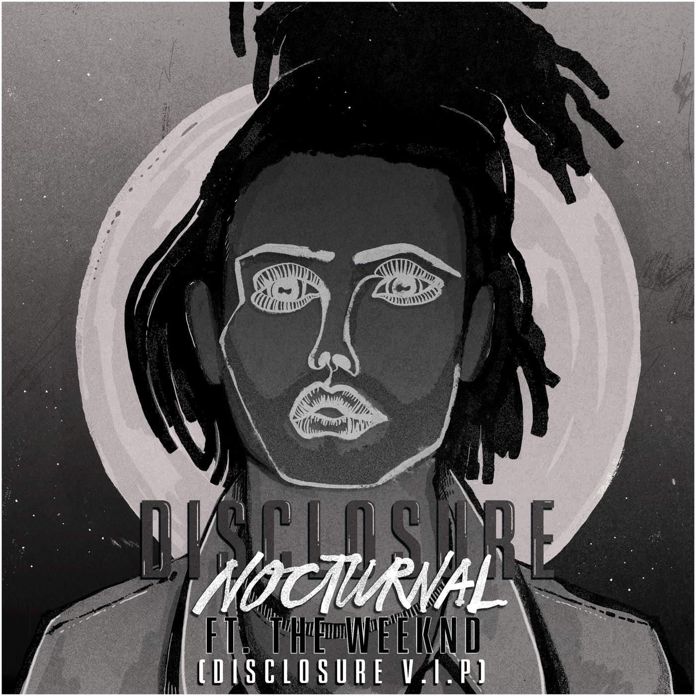Disclosure - Nocturnal (feat. The Weeknd) [Disclosure V.I.P.] - Single  Cover