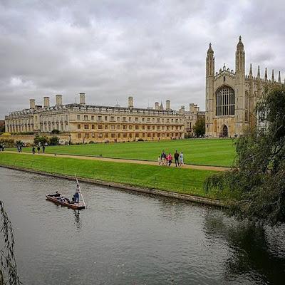Punting en el Cam, Cambridge