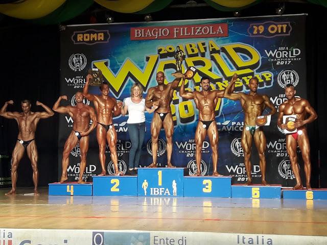 3ος στον κόσμο ο Μιχάλης Μουλάς από το Άργος στο παγκόσμιο πρωτάθλημα bodybuilding της Ρώμης