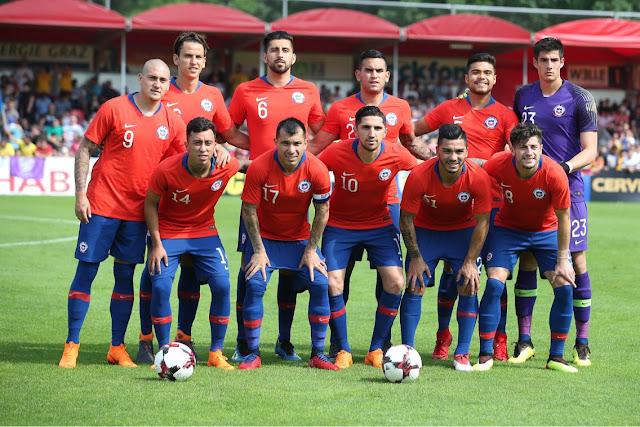 Formación de Chile ante Rumania, amistoso disputado el 31 de mayo de 2018