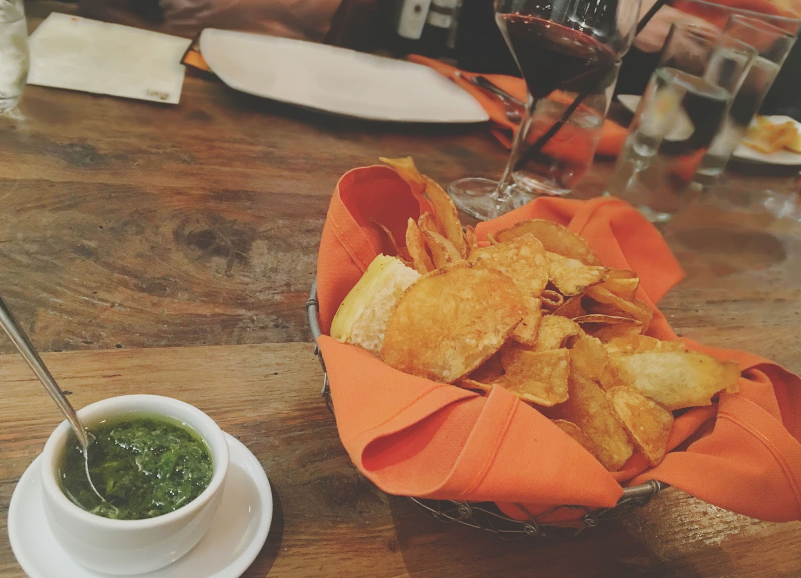 chips at Sal y Pimienta - A South American restaurant in Houston