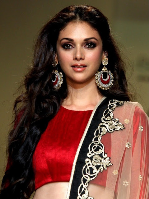 Aditi Rao Hydari Gemstone Chandelier Earrings