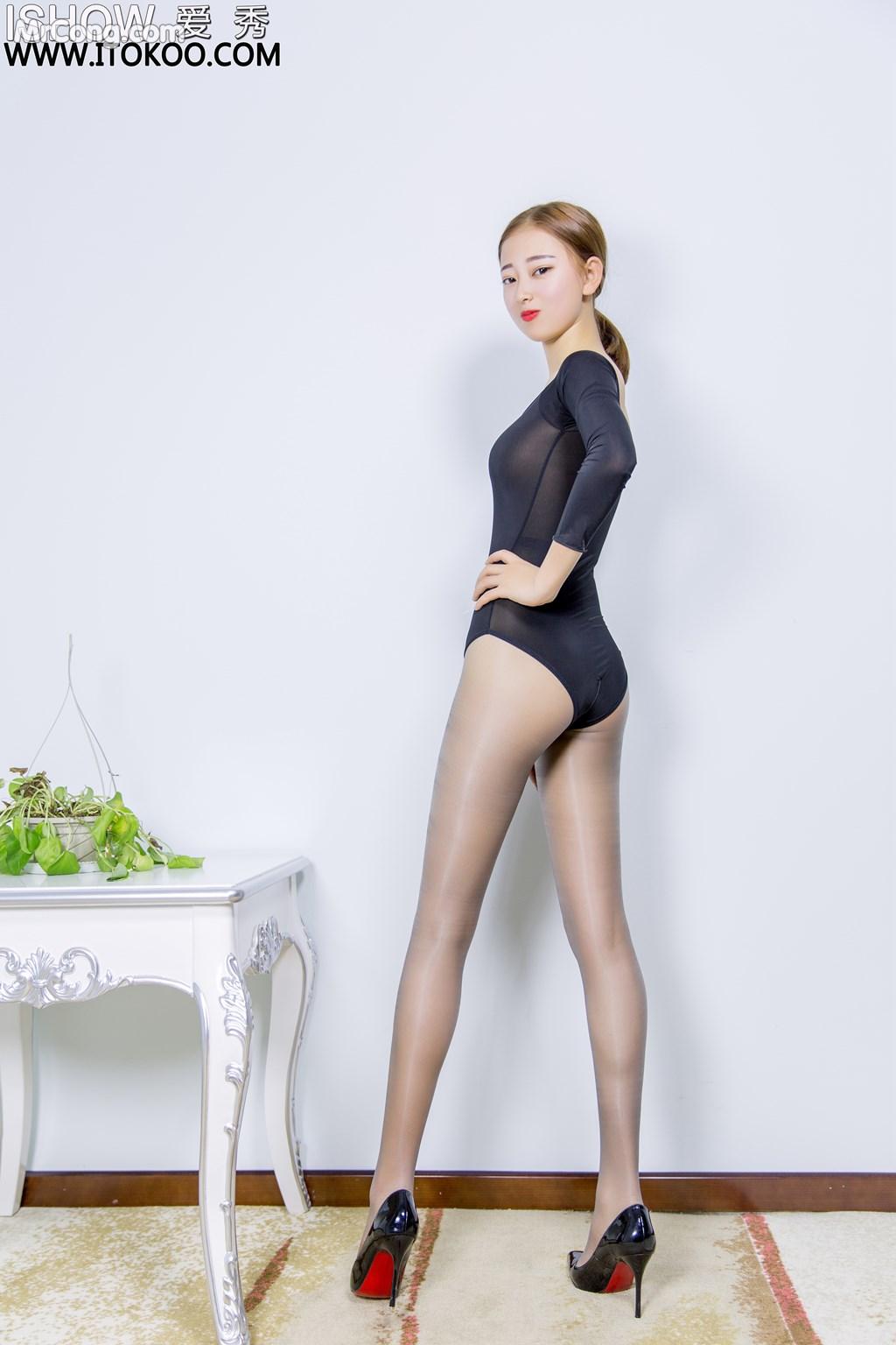 Image ISHOW-No.151-Han-Zhi-Ying-Flora-MrCong.com-004 in post ISHOW No.151: Người mẫu Han Zhi Ying (寒栀樱Flora) (31 ảnh)