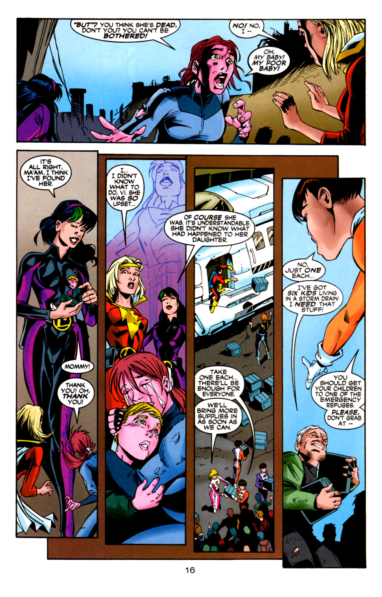 Legion of Super-Heroes (1989) 124 Page 16