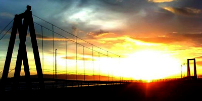 Sunset WISATA PANGANDARAN WATERPARK