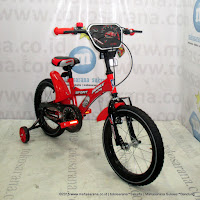 16 Inch Family Sport BMX Kids Bike Red