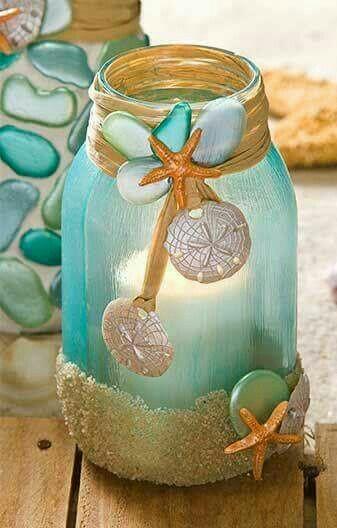 Lentera cantik bertema pantai
