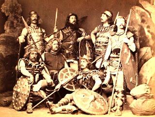 Artistas del elenco de El Anillo del Nibelungo.