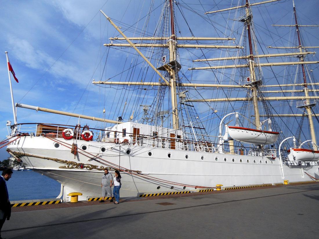 Navi al porto di Gdynia