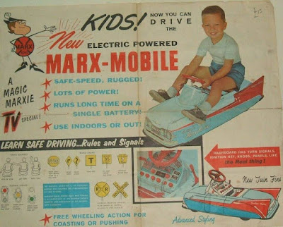 Electric Powered Marx-Mobile