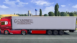 G. Campbell International trailer