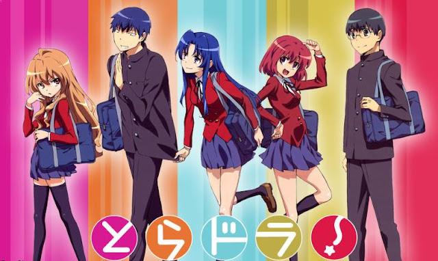 Toradora - Daftar Anime Romance School Terbaik Sepanjang Masa