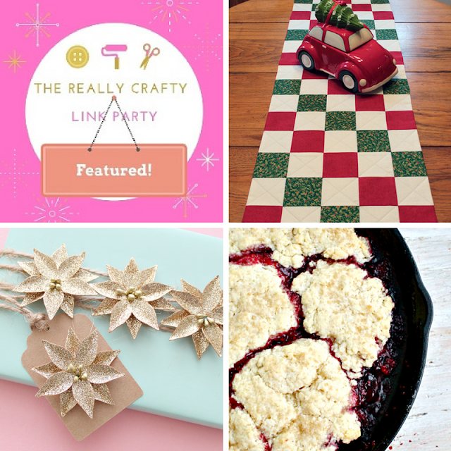 The Really Crafty link Party #46 featured posts