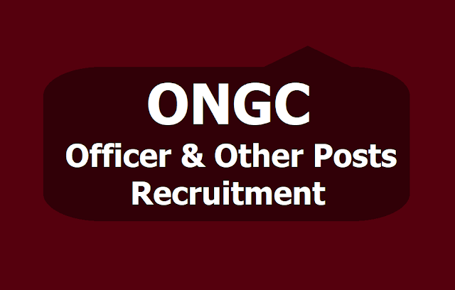 ONGC Officer and Other Posts Recruitment 2019, How to Apply Online till June 18