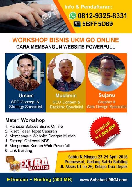 Workshop Cara Membuat Website yang Powerfiull