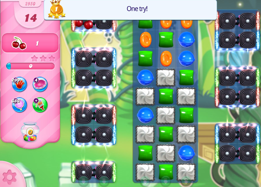 Candy Crush Saga level 295