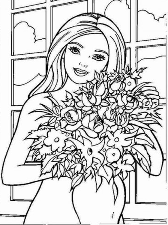 barbie coloring pages on coloring book info | Kids Page: Barbie Coloring Pages for Childrens