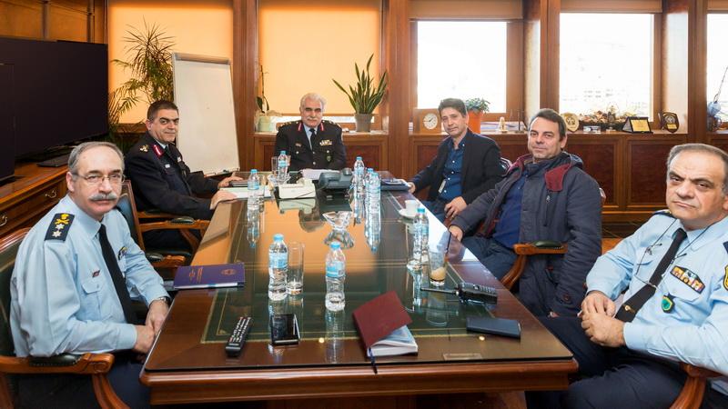 Συνάντηση της Ένωσης Αστυνομικών Υπαλλήλων Αλεξανδρούπολης με τον Αρχηγό της ΕΛ.ΑΣ.