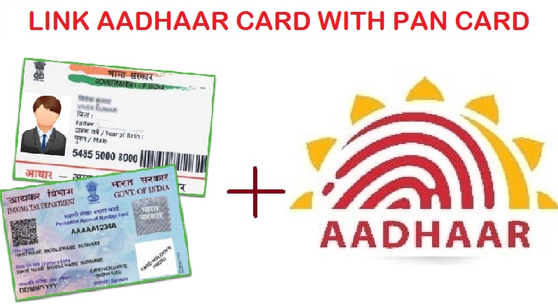 pan card link with aadhaar card