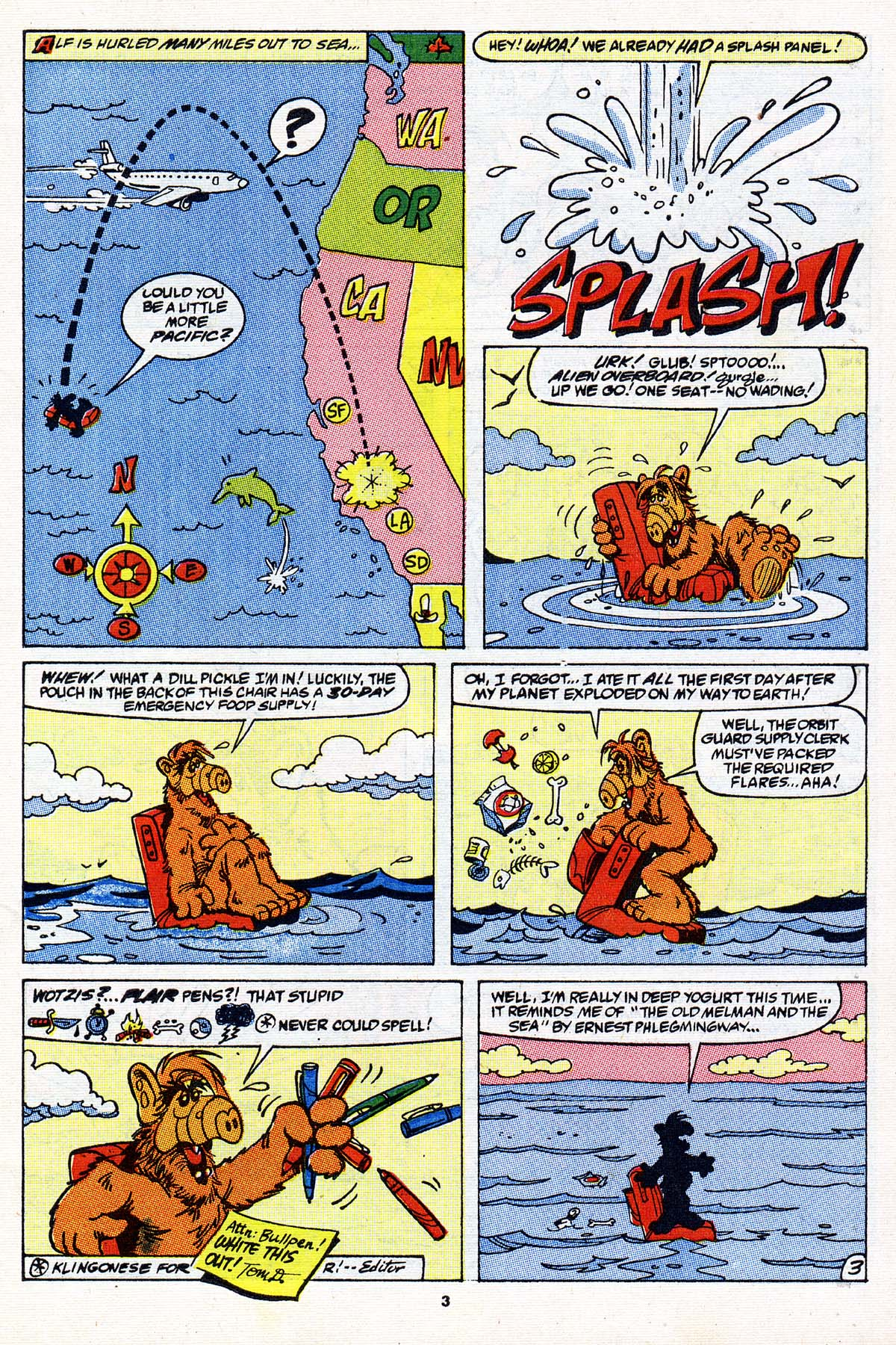 Read online ALF comic -  Issue #27 - 4
